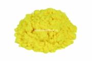 Флок полиамид 1 мм 3,3 dtex цвет 1001 lemon fluor