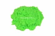 Флок полиамид 1 мм 3,3 dtex цвет 1002 green fluor