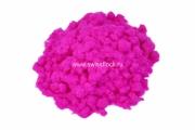 Флок полиамид 1 мм 3,3 dtex цвет 1005 pink fluor
